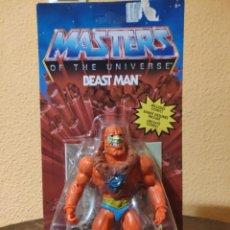Figuras Masters del Universo: FIGURA ARTICULADA MASTERS OF THE UNIVERSE: BEAST MAN (MATTEL). Lote 263211775