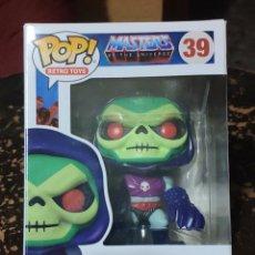 Figuras Masters del Universo: FUNKO POP MASTERS OF THE UNIVERSE N° 39: TERROR CLAW SKELETOR. Lote 263212680
