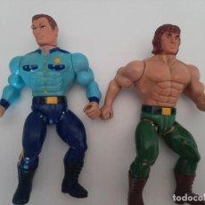 Figuras Masters del Universo: LOTE DE FIGURAS MADISON LTD RAMBO MOTU BOOTLEG. Lote 266272158