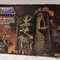 Figuras Masters del Universo: MASTERS UNIVERSO CASTILLO GRAYSKULL. MOTU. MATTEL. VERSION ESPAÑOLA. 1983. INCLUYE INSTRUCCIONES.. Lote 266335308