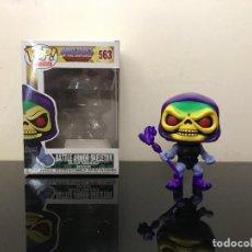 Figuras Masters del Universo: FUNKO POP SKELETOR BATTLE ARMOR - MASTERS OF THE UNIVERSE - FUNKO! POP 563. Lote 267057514