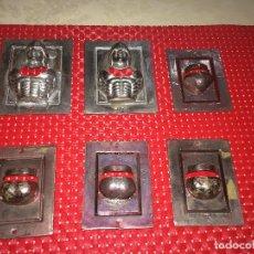 Figuras Masters del Universo: KING HISS - MOTU - MASTERS DEL UNIVERSO - LOTE DE 6 TREPAS - AÑOS 80 - PIEZAS UNICAS - PARA CONGOST. Lote 268753284