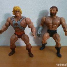 Figuras Masters del Universo: FIGURAS DE HE-MAN Y FISTO. Lote 268960379