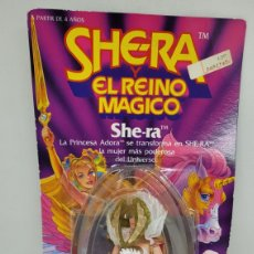 Figuras Os Masters do Universo: SHE RA SHERA Y EL REINO MAGICO. MATTEL 1986. MASTERS UNIVERSO. HE MAN. MOTU. BLISTER. COMPLETO.. Lote 269087953