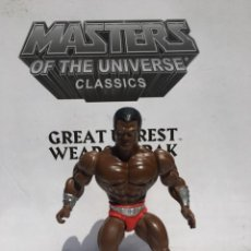 Figuras Masters del Universo: GENIAL MASTERS OF UNIVERSE UNIVERSO MOTU CAPTURATOR CLAMP CHAMP MADE IN SPAIN MATTEL VINTAGE MATTEL. Lote 270371113