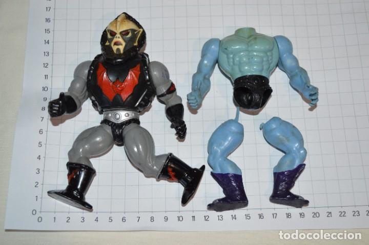 LOTE 40 - VINTAGE / FIGURAS DE ACCIÓN / PIEZAS / ACCESORIOS - MASTERS DEL UNIVERSO / HE-MAN - ¡MIRA! (Juguetes - Figuras de Acción - Master del Universo)