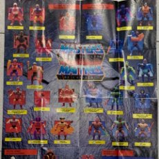 Figuras Masters del Universo: CATALOGO MASTERS OF THE UNIVERSE 1989 MATTEL INGLES FRANCES PRINTED CANADA 54X42CMS. Lote 271876778