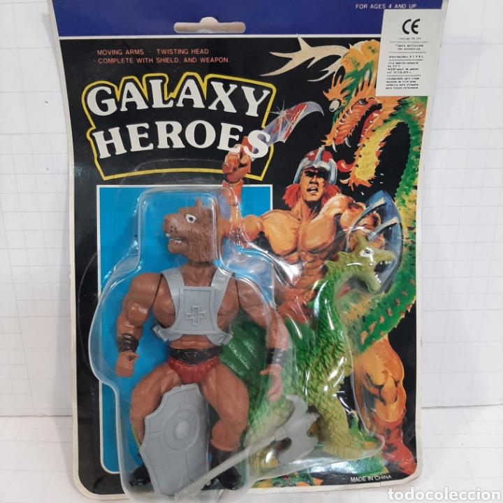 GALAXY HEROES BOOTLEG KNOCKOFF NO JUYBA (Juguetes - Figuras de Acción - Master del Universo)