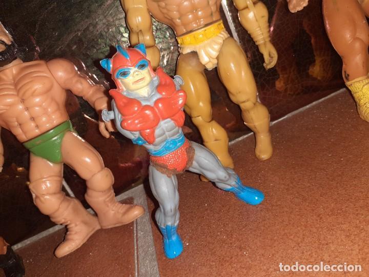 Figuras Masters del Universo: Masters del Universo,HE MAN, WWE Presing Catch bootleg lote de 8 figuras antiguas. - Foto 9 - 272737893