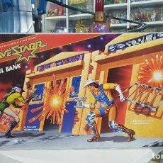 Figuras Masters del Universo: BRAVESTARR FORT KERIUM CARCEL BANK - NEW - SIN ABRIR- TOP. Lote 273522018
