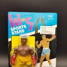 Figuras Masters del Universo: HI5 SPORT STARS OLMEC TOYS 1987 SUN MAN THE CHAMP MOTU BOOTLEG NEW - RARE - MINT. Lote 275160048