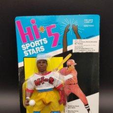Figuras Masters del Universo: HI5 SPORT STARS OLMEC TOYS 1987 SUN MAN - MR. BASEBALL - MOTU BOOTLEG NEW - RARE - MINT. Lote 275160148