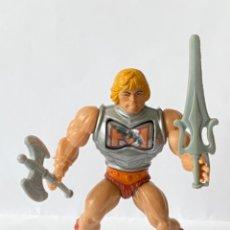 Figuras Masters del Universo: HEMAN BATTLE ARMOR MOTU MASTERS DEL UNIVERSO MASTER HE MAN LOT BA VINTAGE COMPLETO. Lote 277185778