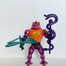 Figuras Masters del Universo: LINGUOR MOTU MASTERS DEL UNIVERSO MASTER HE MAN LOT VINTAGE COMPLETO TUNG LASHOR. Lote 277190168
