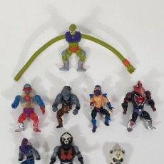 Figuras Masters del Universo: LOTE DE 7 FIGURAS - MASTERS DEL UNIVERSO - MATTEL - AÑOS 80. Lote 277698518