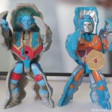 Figuras Os Masters do Universo: STONEDAR Y ROKKON.MASTERS DEL UNIVERSO.MOTU. Lote 284748233
