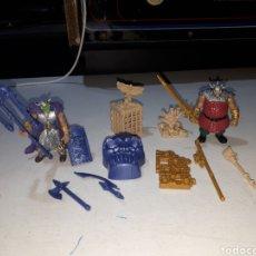 Figuras Masters del Universo: LOTE FIGURAS Y ACCESORIOS HEMAN MOTU BOOTLEG MINI LEER DESCRIPCIÓN. Lote 285293533