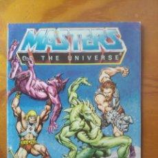 Figuras Os Masters do Universo: MINICOMIC Y CATALOGO QUE VENIA CON LAS FIGURAS HE-MAN, LE MASCHERE DEL POTERE (EN ITALIANO Y ALEMAN). Lote 285443473
