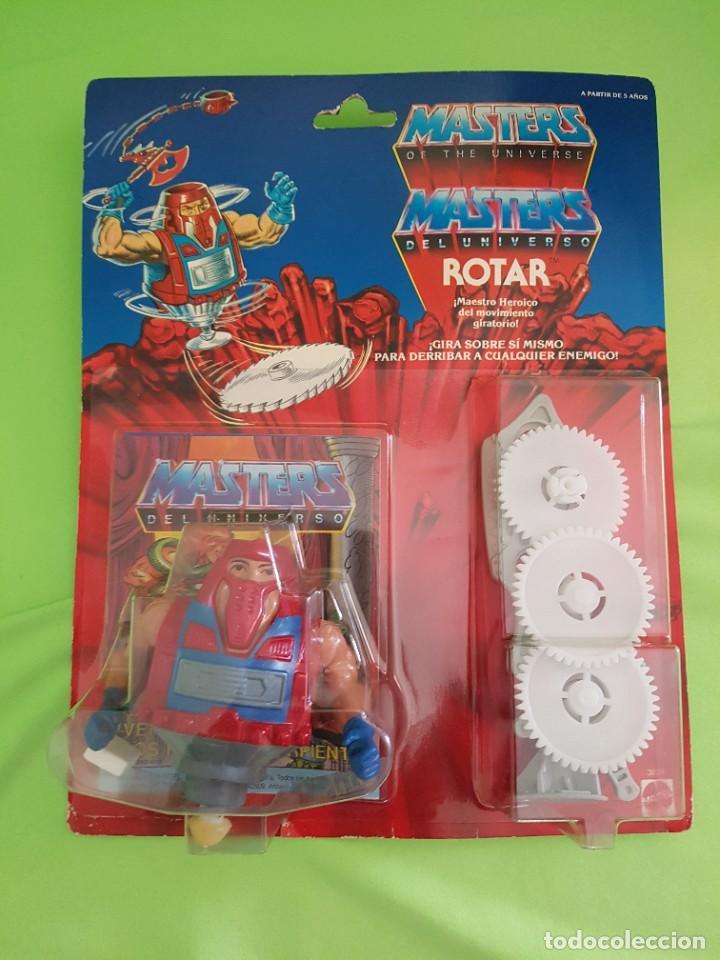 MASTERS DEL UNIVERSO ROTAR (VERSIÓN ESPAÑOLA) (Juguetes - Figuras de Acción - Master del Universo)