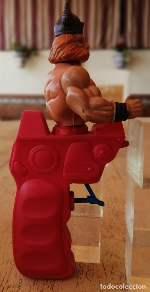 Figuras Masters del Universo: Antigua pistola de agua, Galaxy Warrior, parecido Master del Universo - Foto 4 - 288172593