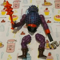 Figuras Masters del Universo: SPIKOR MOTU Y ARMA AÑOS 80S. GOMAS DE LAS PIERNAS ROTAS.. Lote 289227533