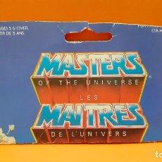 Figuras Masters del Universo: MASTERS DEL UNIVERSO MASTERS OF THE UNIVERSE CARD CARTON - KOBRA KHAN. Lote 289317513