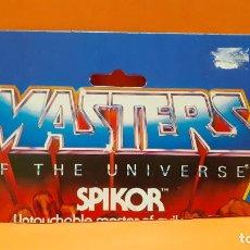 Figuras Masters del Universo: MASTERS DEL UNIVERSO MASTERS OF THE UNIVERSE CARD CARTON - SPIKOR. Lote 289319253