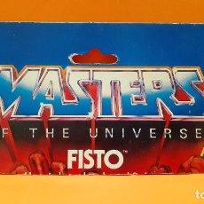 Figuras Masters del Universo: MASTERS DEL UNIVERSO MASTERS OF THE UNIVERSE CARD CARTON - FISTO. Lote 289322228