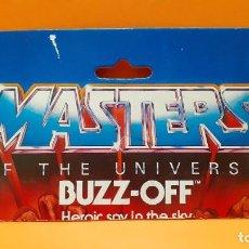 Figuras Masters del Universo: MASTERS DEL UNIVERSO MASTERS OF THE UNIVERSE CARD CARTON - BUZZ-OFF. Lote 289322703
