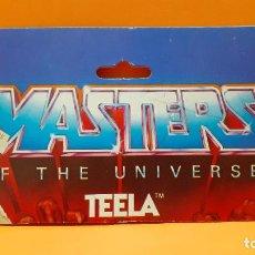 Figuras Masters del Universo: MASTERS DEL UNIVERSO MASTERS OF THE UNIVERSE CARD CARTON - TEELA. Lote 289323163