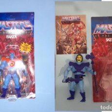 Figuras Masters del Universo: FAKER Y SKELETOR MASTERS OF THE UNIVERSE ORIGINS. Lote 289691678