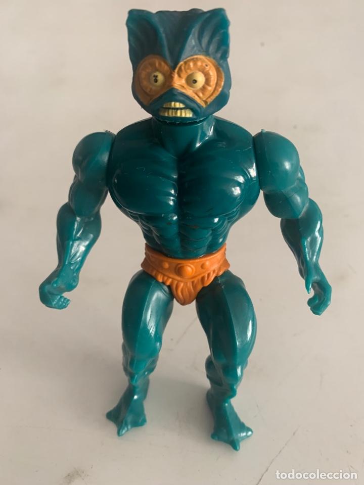 MUÑECA FIGURA MASTERS DEL UNIVERSO MOTU MATTEL 1981 SPAIN MERMAN (Juguetes - Figuras de Acción - Master del Universo)