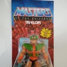 Figuras Masters del Universo: TRI-KLOPS TRIKLOPS TRI KLOPS ORIGINS MATTEL MASTERS DEL UNIVERSO HEMAN MOTU HE-MAN. Lote 289727503