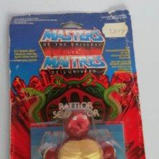 Figuras Masters del Universo: MASTERS DEL UNIVERO RATTLOR, DE MATTEL, EN BLISTER. CC. Lote 294123093