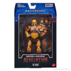 Figuras Masters del Universo: FIGURA HE-MAN 18 CM - MASTERS OF THE UNIVERSE REVELATION MASTERVERSE - MATTEL. Lote 294438203