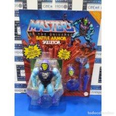 Figuras Masters del Universo: FIGURA SKELETOR BATTLE ARMOR 14 CM - MASTERS OF THE UNIVERSE ORIGINS - MATTEL. Lote 294462458