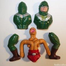 Figuras Masters del Universo: KING HISS MOTU VINTAGE. Lote 295450488