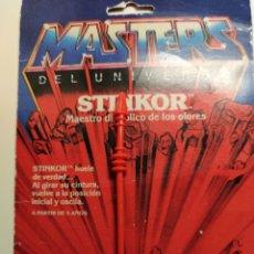 Figuras Masters del Universo: BÁCULO WIPLASH MASTERS DEL UNIVERSO HEMAN MOTU MATTEL. Lote 295468758