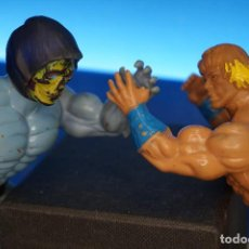 Figuras Masters del Universo: MOTU. MATTEL 1981. HE-MAN + SKELETOR SIN BRAZO. Lote 296690888