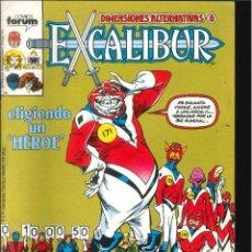 Figuras Masters del Universo: EXCALIBUR VOLUMEN 1 CÓMICS FÓRUM MARVEL NÚMERO 17. Lote 296698958