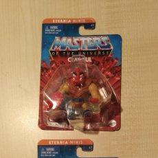 Figuras Masters del Universo: MASTERS DEL UNIVERSO ETERNIA MINIS MERMAN Y CLAWFUL MOTU MASTER OF THE UNIVERSE MOC NUEVO. Lote 296745838