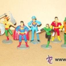 Figuras y Muñecos DC: JUSTICE LEAGUE JLA 13 FIGURAS PEPSI PROMO 1981 SUPERMAN BATMAN. Lote 18004226