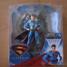 Figuras y Muñecos DC: FIGURA SUPERMAN RETURNS INVULNERABLE . DC MATTEL 2006 PRECINTADA. Lote 27727548