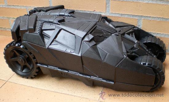 BATMOBIL COCHE DE BATMAN MUY GRANDE, DC COMICS 2005 MATTEL (Juguetes - Figuras de Acción - DC)
