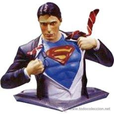 Figuras e Bonecos DC: BUSTO SUPERMAN RETURNS - CLARK KENT ( DC COMICS - EDICION LIMITADA ) NUEVO EN SU CAJA ORIGEN. Lote 34583648