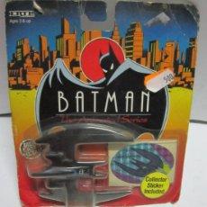 Figuras y Muñecos DC: BATMAN BATPLANE, METALICO, EN BLISTER. ( VER ) CC. Lote 34968216