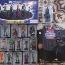 Figuras y Muñecos DC: DC FIGURAS DE PLOMO PINTADAS A MANO ALTAYA, 17 FIGURAS + FASCICULOS + TAPAS + PEANA + FIG EXCLUSIVA. Lote 36661263