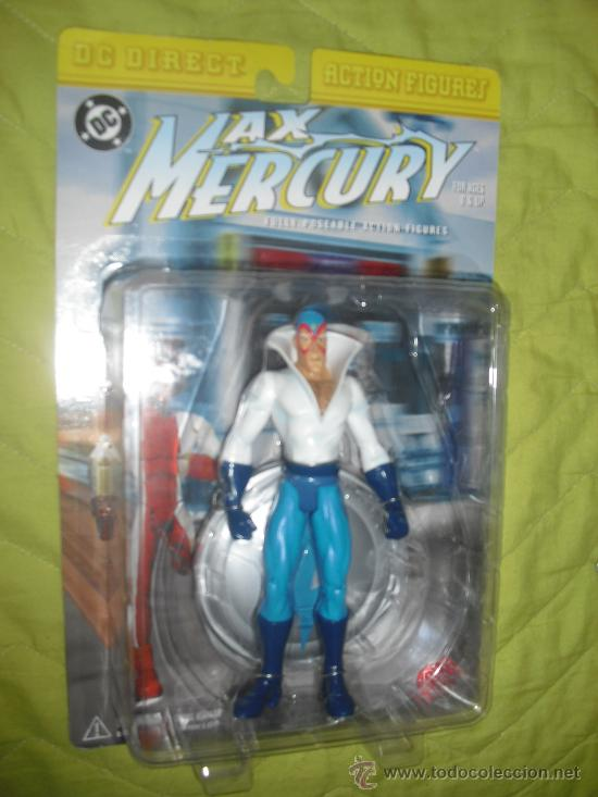 DC DIRECT MAX MERCURY NUEVO EN BLISTER ORIGINAL- THE FLASH IMPULSE (Juguetes - Figuras de Acción - DC)