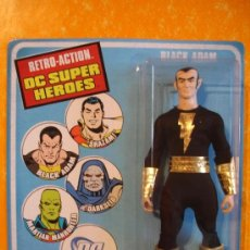 Figuras y Muñecos DC: FIGURA BLACK ADAM . RETRO ACTION DC SUPER HEROES . MATTEL 2010 MEGO 1970'S . NUEVA !. Lote 38235326