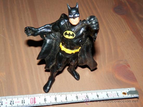 FIGURA GOMA PVC ACCION BATMAN DC COMICS 1989BULLY GERMANY VER FOTOS (Juguetes - Figuras de Acción - DC)
